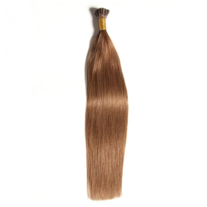 Julia Indian Straight I Tip Human Hair Extensions Fusion Hair