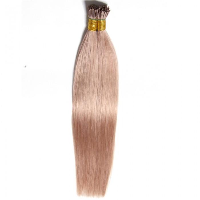 Julia 50g Itips Malaysian Straight Hair Fusion I Tip Hair Extension