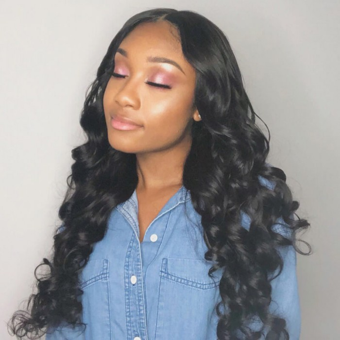 Julia Body Wave Lace Closure With 4pcs Virgin Hair Bundles