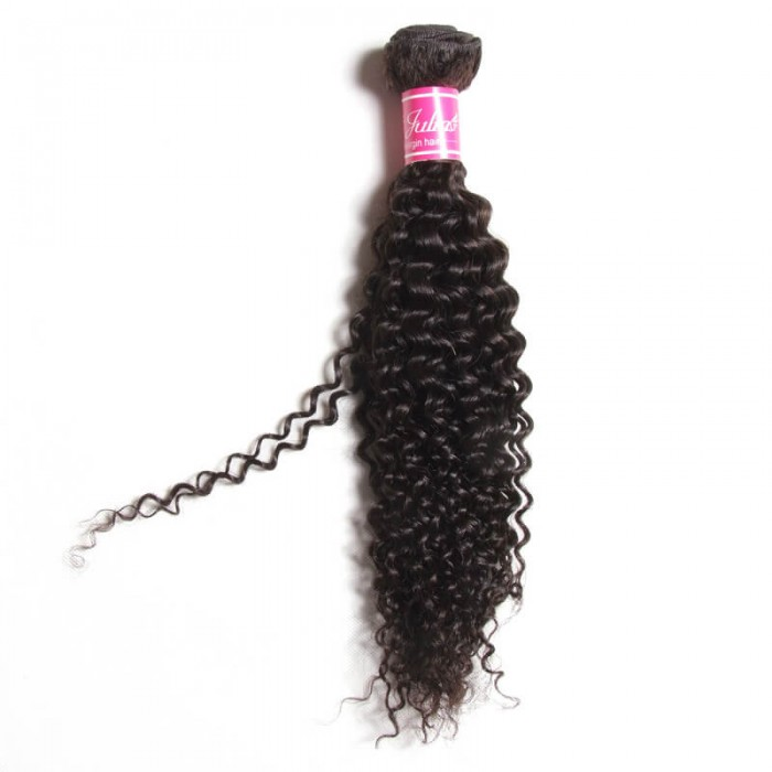 Julia 1 Piece 7A Best Curly Weave Human Hair Weaving For Sale