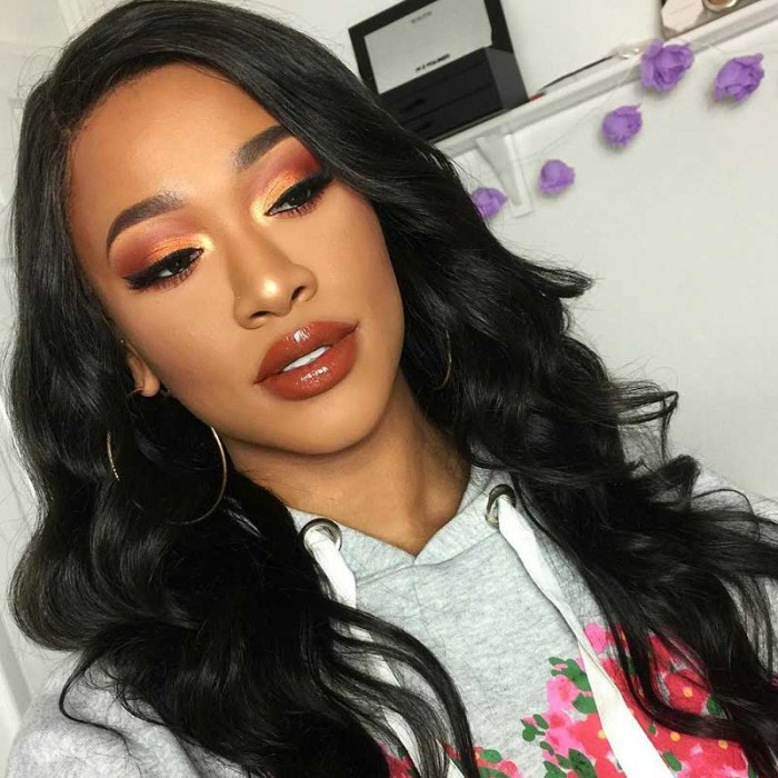 Julia Cheap Virgin Body Wave Peruvian Hair Lace Closure With 4pcs Hair Bundles
