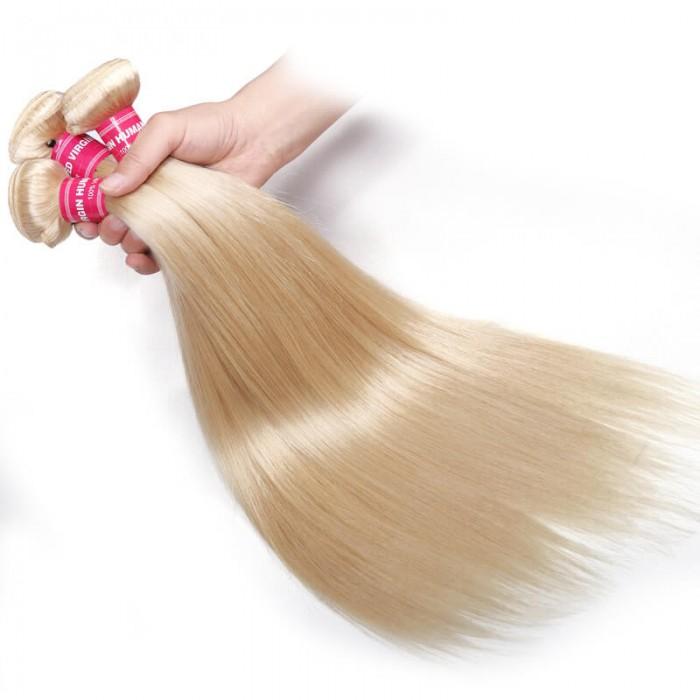 #613 Brazilian Human Hair Bundles 3 Pcs/Pack