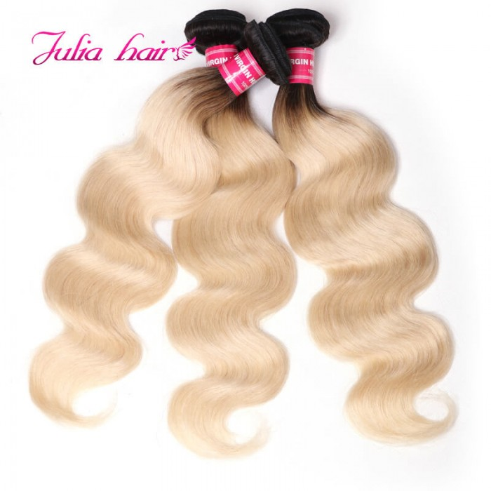 Brazilian Ombre Body Wave Hair 3 Bundles/Pack
