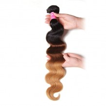 Julia 1 Bundle Of Unprocessed Ombre Body Wave Human Hair Weave