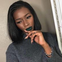 Julia Virgin Malaysian Hair Straight Human Weave 4 Bundles With Lace Closure