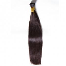 "Julia I Tip Human Hair Extensions18""20""22""24"" 100g Malaysian Virgin Hair Stick I Tip Human Hair Extensions Cabelo Humano Tic Tac"