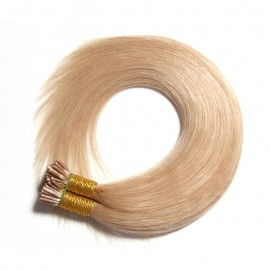 Julia 50g Itips Malaysian Straight Hair Fusion I Tip Hair Extension Pre Bonded I-Tip Hair Glue In Extensions Best Quanlity