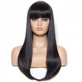 Cheap Brazilian Straight Wig Human Hair