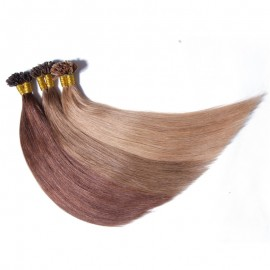 Julia Indian Human Hair Extensions Pre-Bonded U Tip Hair Extensions