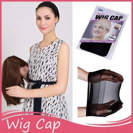 Julia Wig Cap For Making Wigs Stocking Wig Liner Cap Snood Nylon Stretch Mesh In 2 Colors Hair Weaving Net