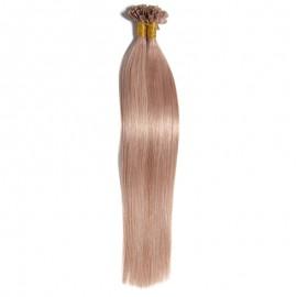 Julia Brazilian U Tip Fusion Human Hair Extensions Best Nail Hair Extension On Sale