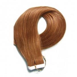 Julia PU Tape Skin Weft  Malaysian Straight Human Virgin Hair Cheap Tape In Hair Extensions