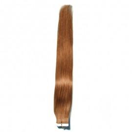Julia Indian Straight Virgin  PU Tape Human Hair