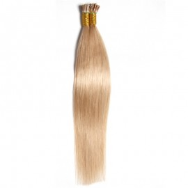 Julia Indian Straight I Tip Human Virgin Extensions Hair Remy Real Hair Extensions