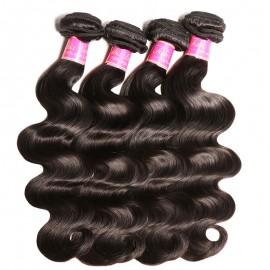 Julia Virgin Body Wave Weave Hair 4 Bundle Deals 100 Virgin Human Hair For Sale