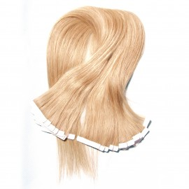Julia Malaysian Skin Weft Tape Hair Extensions Human Virgin Hair Straight Cheap Malaysian Tape In Hair Extensions 50g