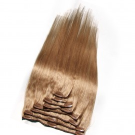 Julia Best Brazilian Colored Real Human Hair Clip In Extensions