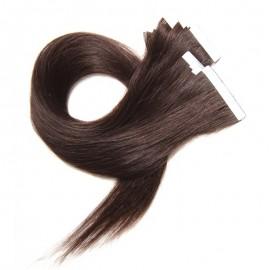 Julia Peruvian Straight PU Taping  Human Virgin Hair Extensions