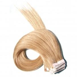 Julia Indian Silky Straight PU Skin Weft Hair Extensions Fusion Hair Extensions For Short Hair