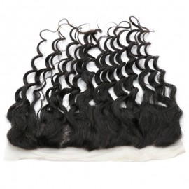 Julia 3 Bundle Deals Brazilian Natural Wave Human Hair Bundles With Lace Frontal