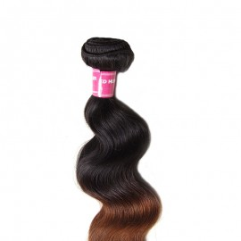 Julia 1 Bundle Of Unprocessed Ombre Body Wave Human Hair Weave
