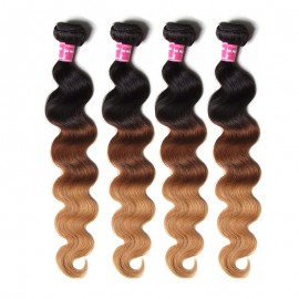 Julia Hair Products Ombre Body Wave Virgin Hair 3 Bundles Best Ombre Human Hair Bundles