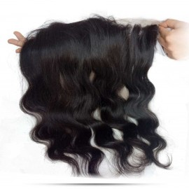 Julia 1 Piece 7A Free Part Body Wave Lace Frontal Hair Closure