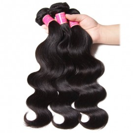 Virgin Malaysian Body Wave Hair 3 Bundles Deals