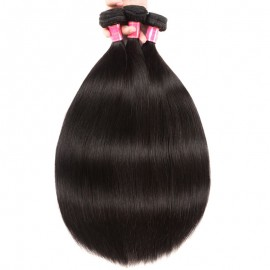 Julia Virgin Brazilian Straight Hair 3 Bundles Best Straight Hair Weave