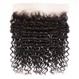 Julia Deep Wave Lace Frontal Best Deep Wave Virgin Human Hair Closure
