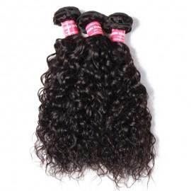 Julia Brazilian Water Wave Bundles 3pcs/lot Best Wavy Human Hair Weave