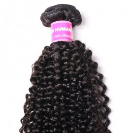 Julia 1 Piece Of Kinky Curly Human Hair Weave Best Afro Kinky Curly Bundle