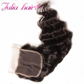 Julia Natural Wave Lace Closure Best Lace Closure Natural Wave Human Hair For Sale