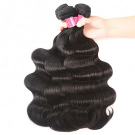 Julia 3Pcs/pack Unprocessed Virgin Indian Remy Body Wave Hair Weft Human Weave