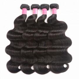Julia 4 Bundles Brazilian Body Wave Weave Virgin Human Hair Bundles Deals