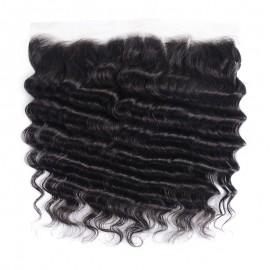 Julia 13x4 Loose Deep Lace Frontal 1 Piece Best Loose Deep Wave Human Hair Frontal