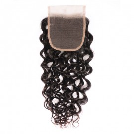 Julia Loose Water Wave Human Hair 4x4 Lace Closure Best Loose Water Wave Hair
