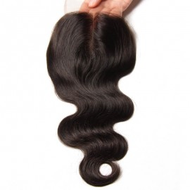 Julia Body Wave Human Hair Closure
