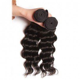 Julia Virgin Indian Natural Wave Hair 3 Bundles Human Indian Hair Weave