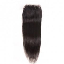 Julia Straight Hair Transparent Lace Closure 130% Density Invisible Human Hair Closure