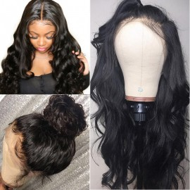 Julia 360 Lace Front Body Wave Human Hair Wig With Pre Plucked Hairline 150% 180% Density