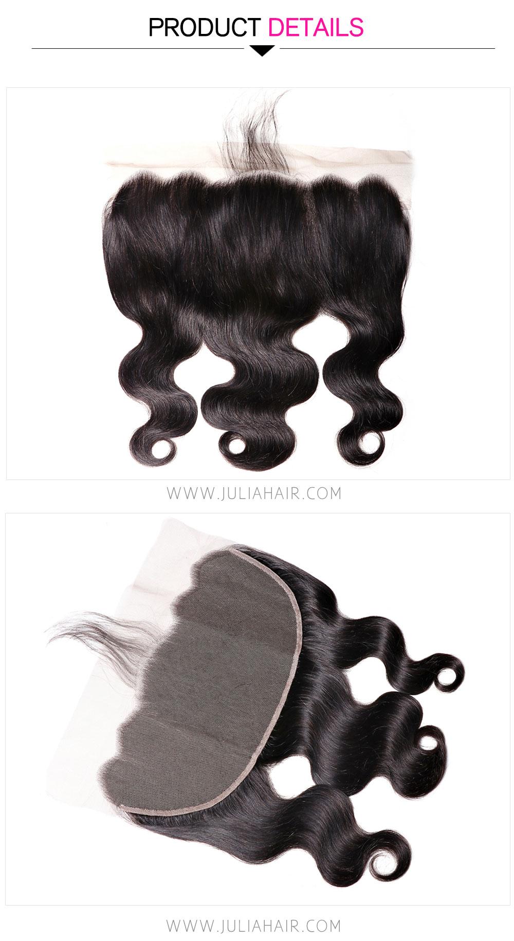 Brazilian hair 13x6 lace frontal