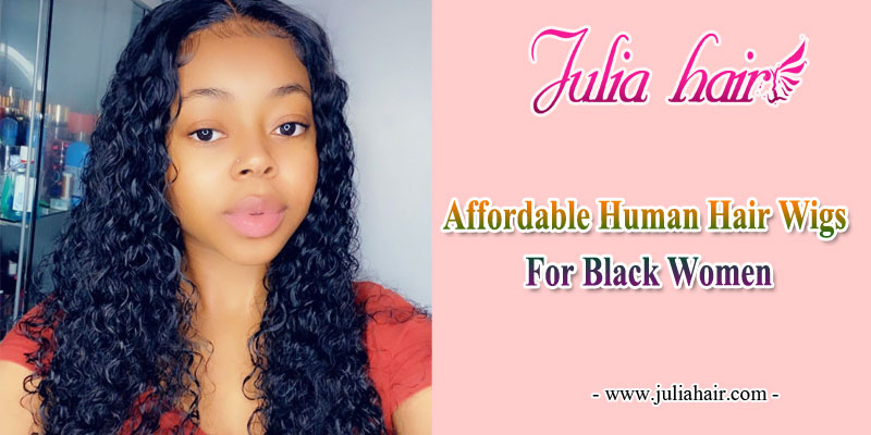 affordable human hair wigs for black women