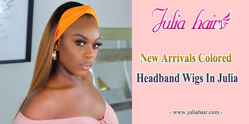 new arrivals colored headband wigs