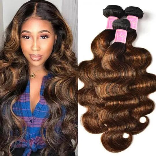 balayage hair color hair bundles
