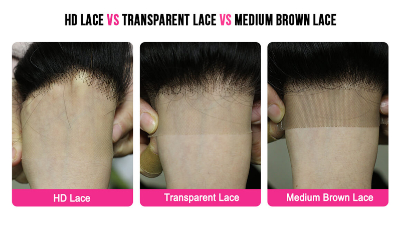 different types of lace color