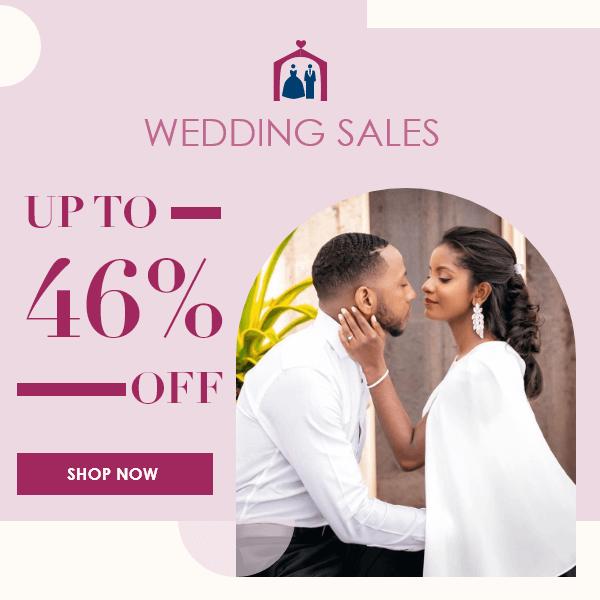 wedding season big sale
