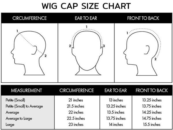 wig cap size