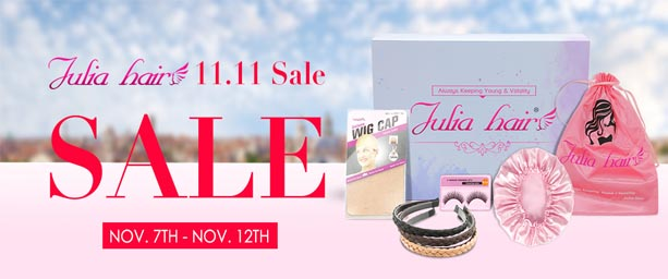 julia hair 11.11 giveaway