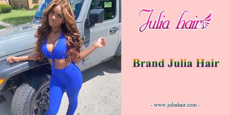 brand Julia hair